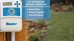X2 Irrigation Controller Manual Operation