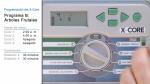Programación del Hunter X-Core 2 de 2: programas múltiples y otras funciones