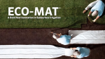 Eco-Mat Subsurface Irrigation: How to Install Eco-Mat