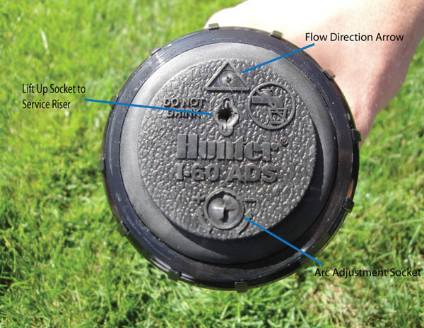 how to set hunter sprinkler head