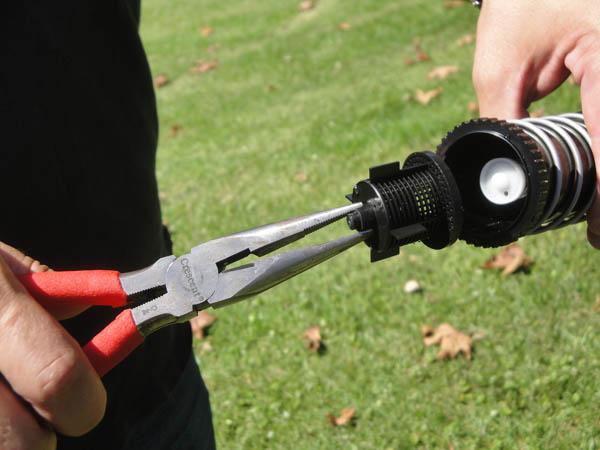how to use hunter ec sprinkler system